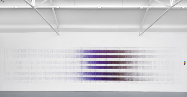, 'Black and Blue,' 2017, Galerie Fons Welters
