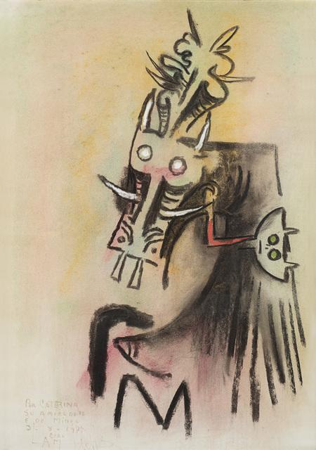 """Wifredo Lam, '""""Untitled""""', 1977, Il Ponte"""