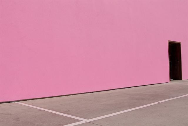 , 'Pink Wall,' 2015, Dab Art