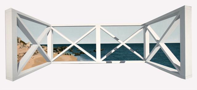 Warner Friedman, 'Beach Railing', 2018, Clark Gallery