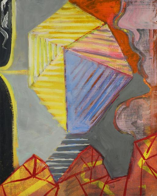 , 'Crystal 2 Complex Yet Symmetrical,' 2018, John Davis Gallery