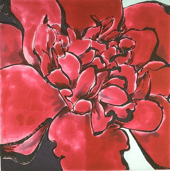 Robert Kushner, 'Camellia Red', 1994, Crown Point Press