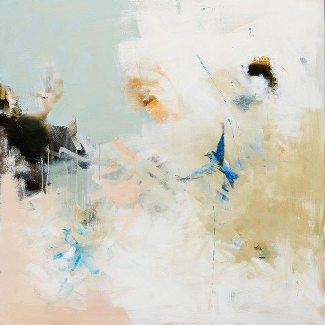 Diana Tremaine, 'Flight of the Blue Bird', 2019, Andra Norris Gallery