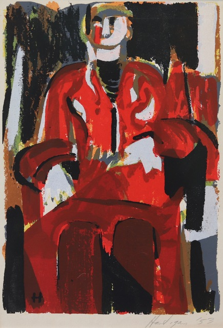 Grace Hartigan, 'The Persian Robe', 1953, Aaron Galleries