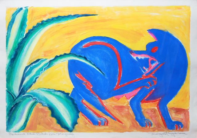 , 'Red & Blue Bitch con Maguey,' 1988, Robert Berman Gallery