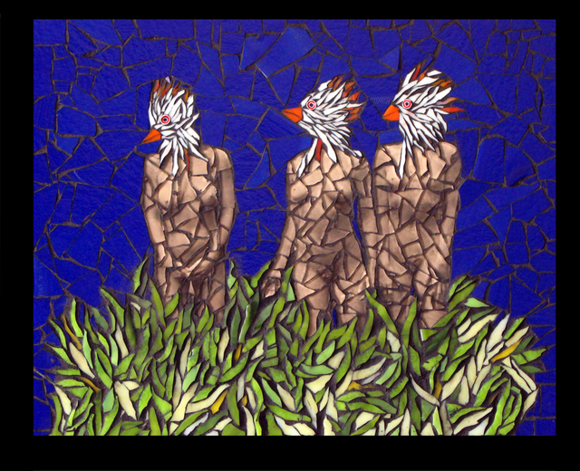 , 'Three Bird Women,' 2015, ViVO Contemporary