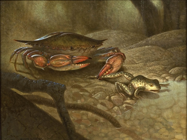 , 'Crab and Frog,' 2008, Gormleys Fine Art
