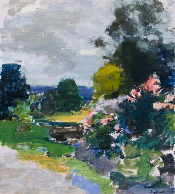 , 'Roses at the Val d'Arz,' , Valley House Gallery & Sculpture Garden