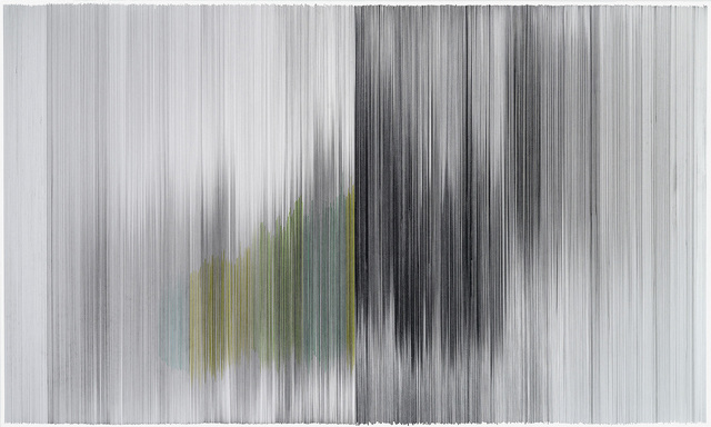 , 'motion drawing 36,' 2014, Carrie Secrist Gallery