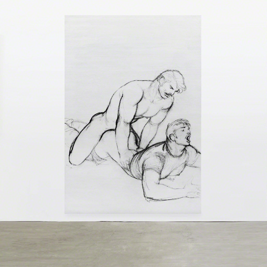 TOM OF FINLAND, Untitled (in situ), 1977