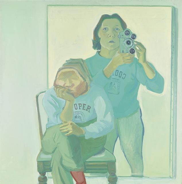 , 'Doppelselbstporträt mit Kamera,' 1974, Belvedere 21