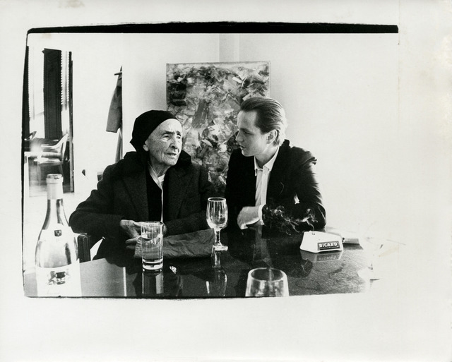 Andy Warhol, 'Andy Warhol, Photograph of Georgia O'Keeffe with Juan Usle, 1982', 1982, Hedges Projects