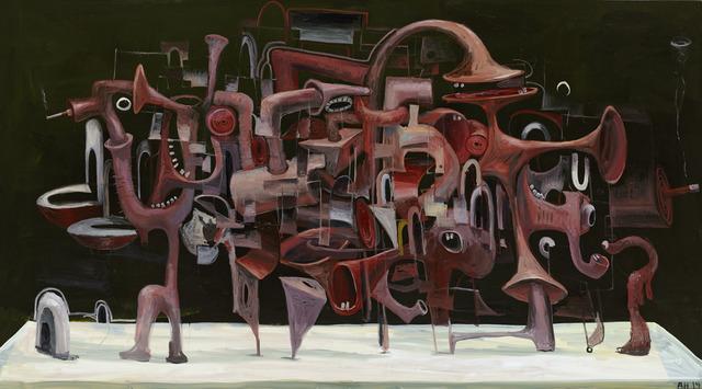 , 'Grosses Stilleben No. 3,' 2014, Galerie Bob van Orsouw