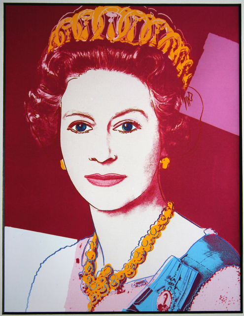 Andy Warhol, 'Queen Elizabeth (from Art Basel)', 1987, EHC Fine Art Gallery Auction