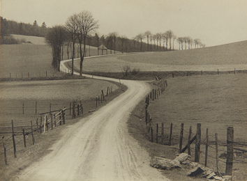 Albert Renger-Patzsch, 'Untitled (country road),' 1930s, Phillips: The Odyssey of Collecting