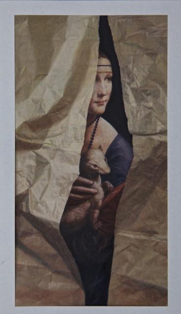 Lucy Mackenzie, 'Leonardo Lady with Torn Paper', 2010, Nancy Hoffman Gallery