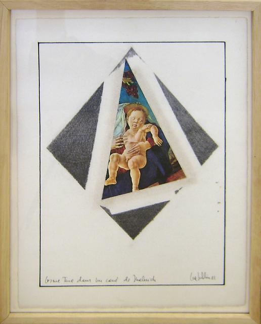 , 'Cosimo Tura dans le carré de Malévitch,' 1981, espaivisor - Galería Visor