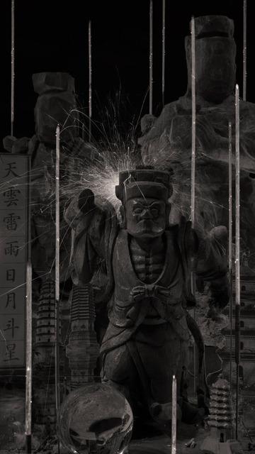 , '99000 Ksana of one Incense - 3,' , Danysz Gallery