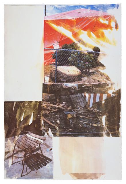 Robert Rauschenberg, 'Break (Speculations)', 1997, Print, 19 color screenprint, Gemini G.E.L.