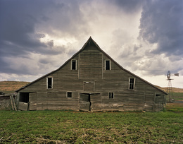 , 'Cash Meier Barn, Shadbolt Ranch, Cherry County, Nebraska,' 2013, Yancey Richardson Gallery