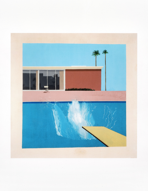 David Hockney, 'A Bigger Splash 1967, Red Pots In The Garden 2000 & Gardens 2015', Tate Ward Auctions
