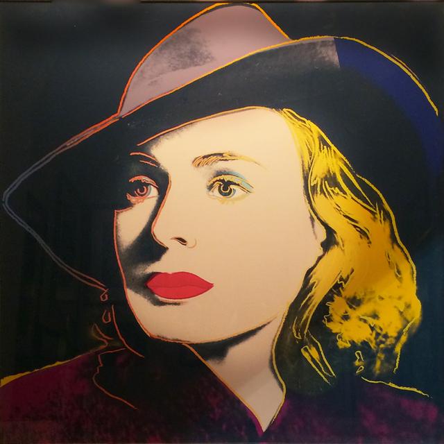 , 'Ingrid Bergman: With Hat,' 1983, Revolver Gallery