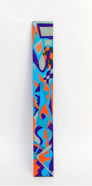 , 'Spirit Stick - Orange and Blue,' 2015, Start