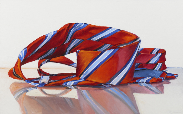 , 'Red and Blue Stripes (Tie),' 2016, Paul Thiebaud Gallery