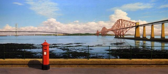 , 'Forth Bridges,' , Plus One Gallery