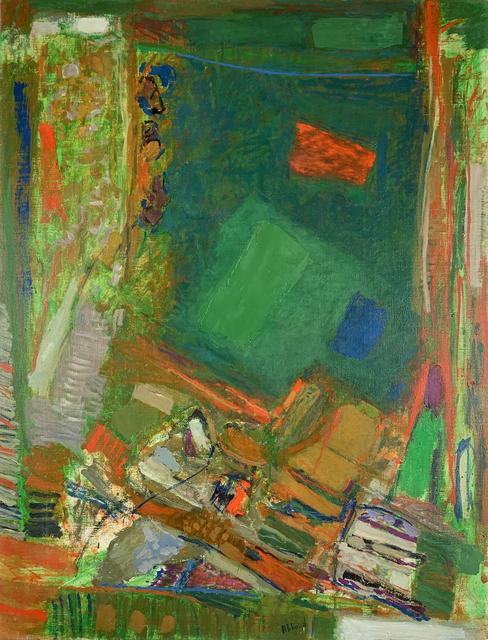 Chafic Abboud, 'Le chant du tapis', 1974, Painting, Oil on canvas, Elmarsa