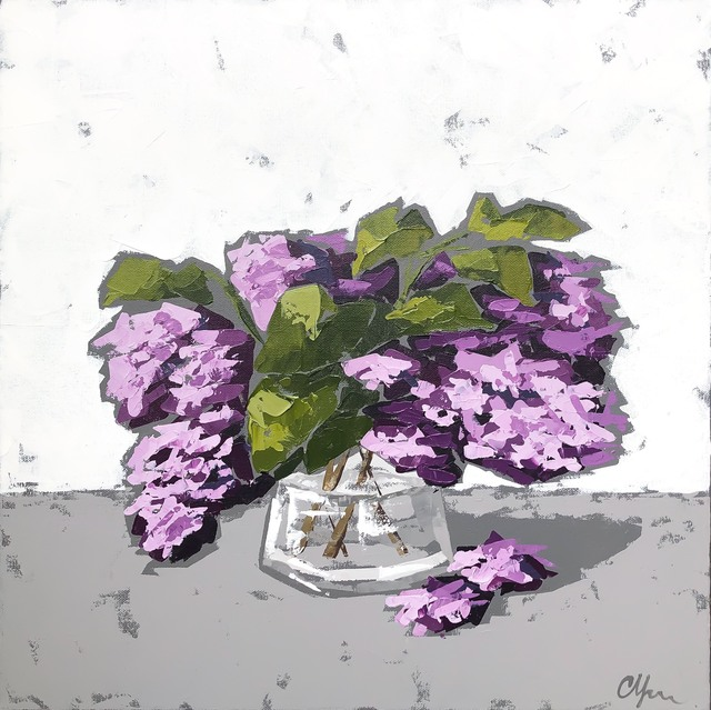 Christie Younger, 'Purple Lilacs', 2019, Shain Gallery
