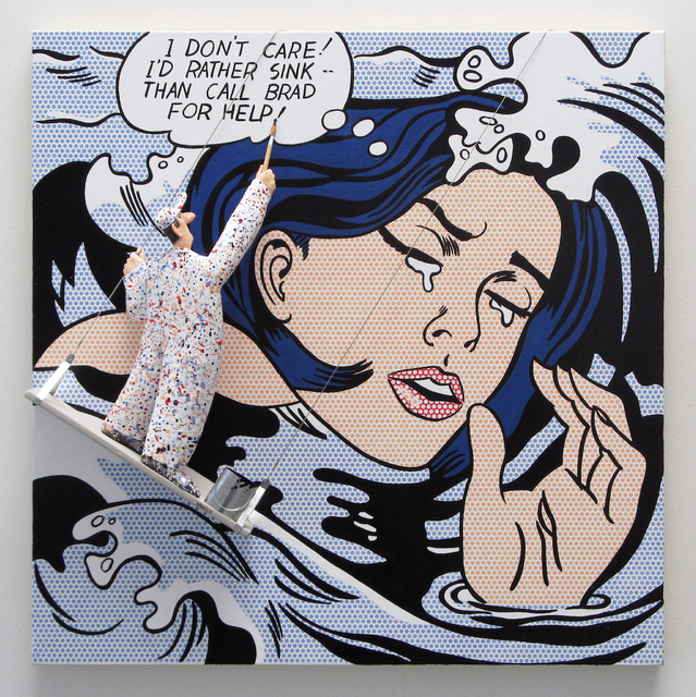 , 'GMIA:Lichtenstein - Drowning Girl,' , Water Street Gallery
