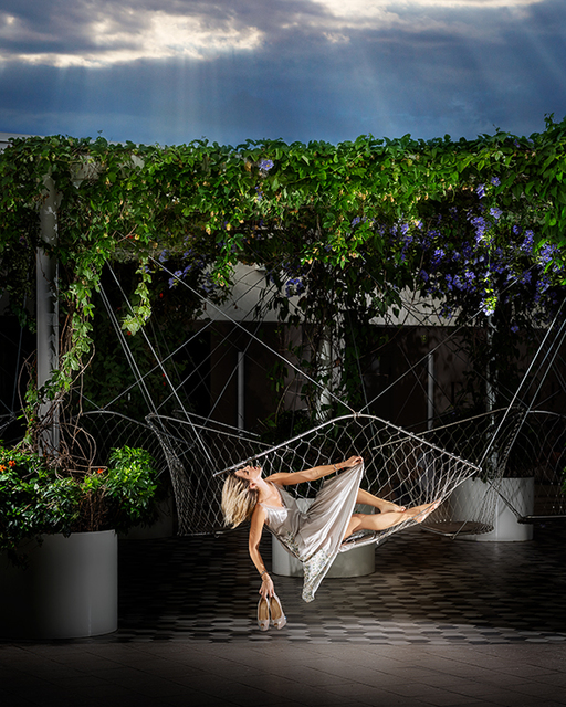 David Drebin, 'Swinging Beauty', 2018, Isabella Garrucho Fine Art