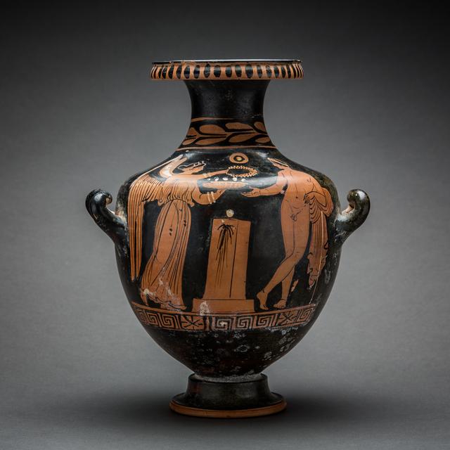 , 'Apulian Red-Figure Hydria,' 400 BCE-300 BCE, Barakat Gallery