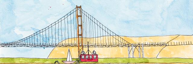 , 'Golden Gate,' 2014, Creativity Explored