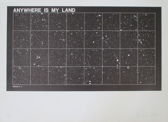 , 'Anywhere is my land ,' ca. 1970, Fólio Livraria
