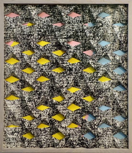 Jirka Pfahl, 'Faltung bunt', 2015, Lachenmann Art