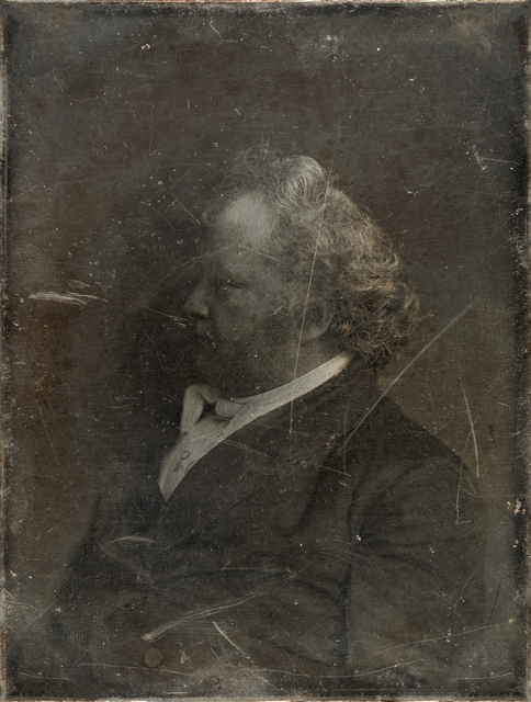 Michael Huey, 'Mr. James Mapes, based on a damaged 1850s/60s Daguerreotype by Mathew Brady', 2019, Galerie Reinthaler