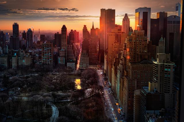 David Drebin, 'High Rise NYC', 2013, Isabella Garrucho Fine Art