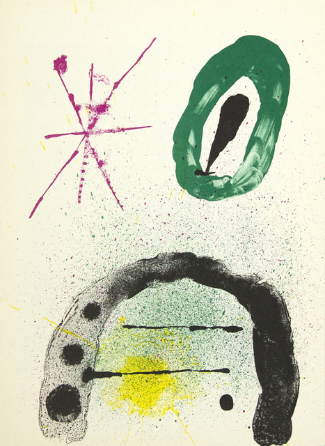 Joan Miró, 'The Gardner's Daughter', 1963, Heather James Fine Art Gallery Auction