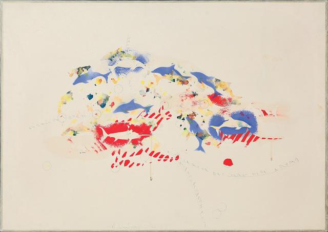 , 'Delfini e pesci spada,' 1988, Dep Art