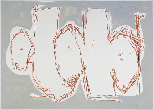 , 'Elegy Sketch, State I,' 1990, Dedalus Foundation