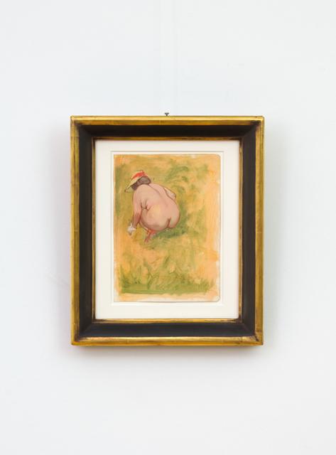 , 'Hockender weiblicher Akt (Crouching Nude),' 1940, Hagemeier