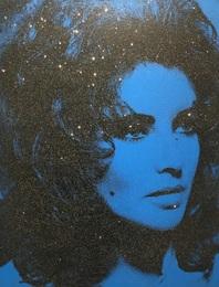 Liz Taylor - Mediterranean Blue & Black