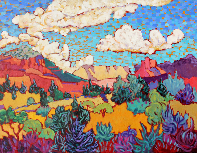 ", '""Clouds Over Red Rocks"",' 2017, Bonner David Galleries"