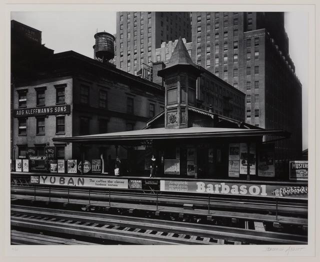 Berenice Abbott, 'Barclay Street Station', 1930, Doyle