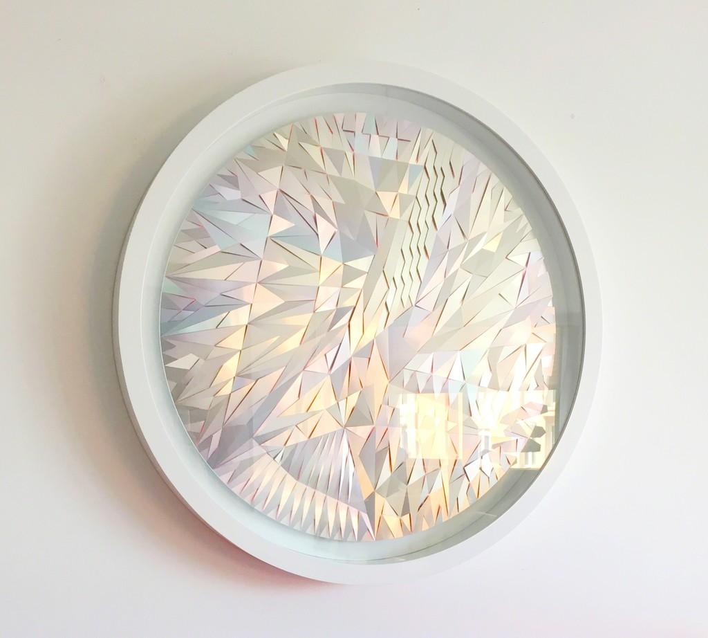 Paul Amundarain Anarchic Skin Radio Aluminium, Wood, Painting,Glas. 47 inches 2013 Price:$10.000