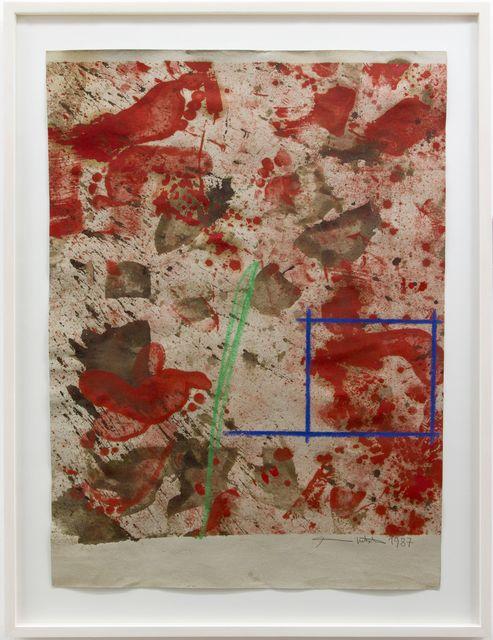 Hermann Nitsch, 'Ohne Titel', 1987, Galerie Elisabeth & Klaus Thoman