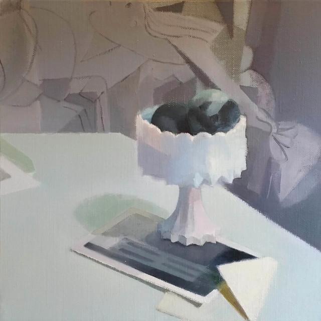 , 'A Study in Gray,' 2018, Kathryn Markel Fine Arts