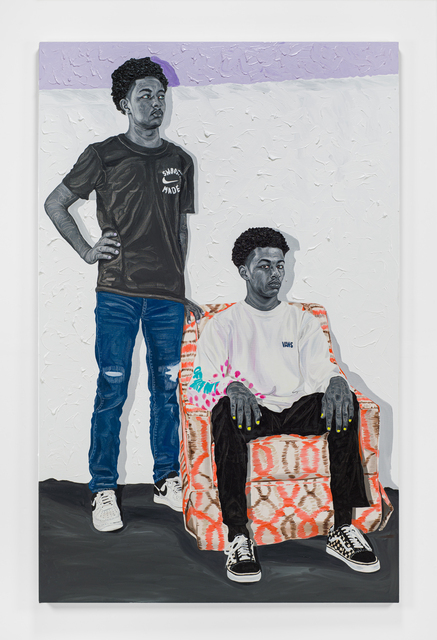 Otis Kwame Kye Quaicoe, 'Point of View', 2021, Painting, Oil on canvas, Roberts Projects